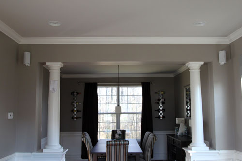 Columns In Between Our Dining And Formal Living Rooms I