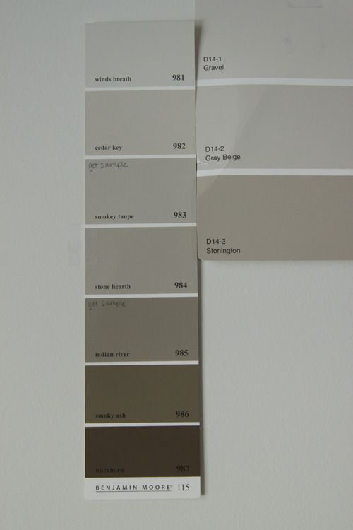 Closet the lil house that could part 11 for What color is taupe gray