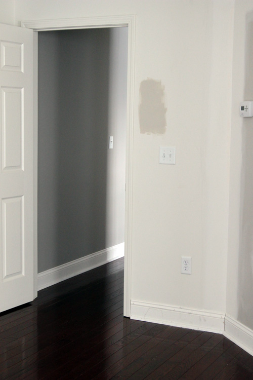 Valspar the lil house that could for Benjamin moore smoked oyster paint color