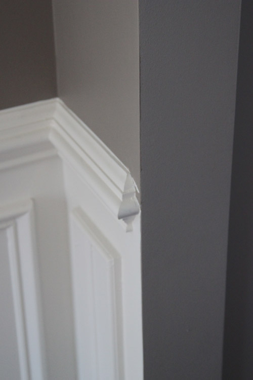 Chair Rail Entryway Part - 17: The Lil House That Could