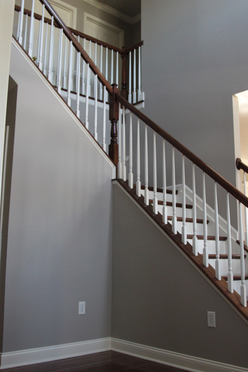 Chair Rail Staircase Part - 21: Going ...