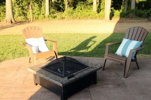 brown plastic adirondack chairs 2
