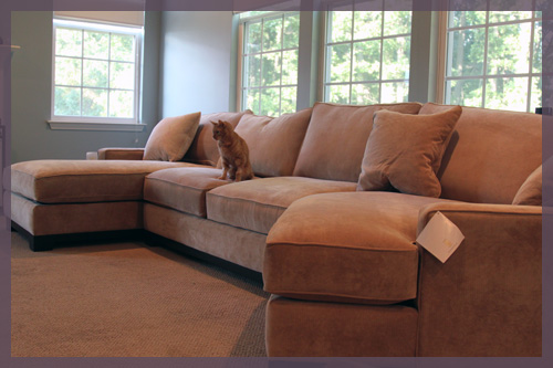 Couch With Cuddle Corner Furniture Table Styles