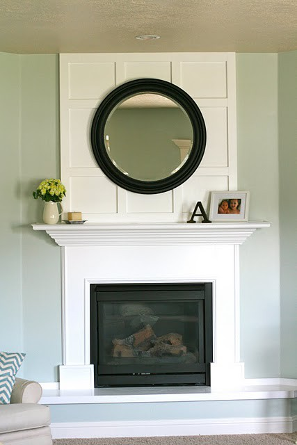 Fancy-ing the Fireplace | the lil house that could