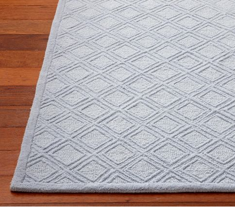 It Was A Solid Blue With Subtle Diamond Pattern Made Of Wool So Met My Healthy Nursery Requirement Sold