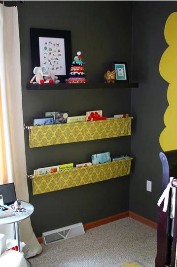 Playroom bookcase 2