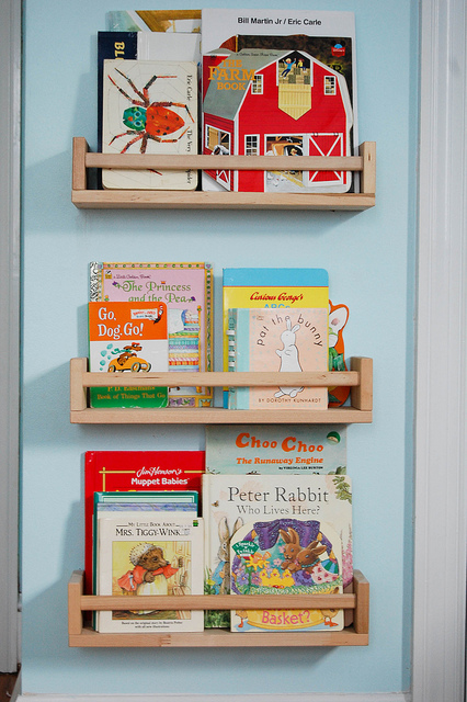 playroom bookcase 1